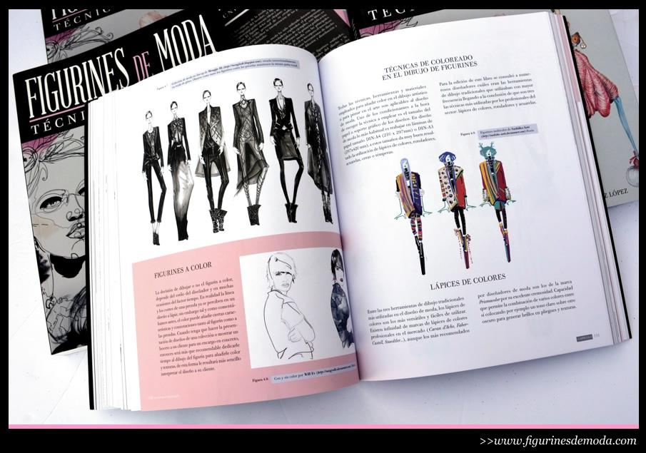 Material grafico e imagenes del libro figurines de moda for Tecnicas de diseno de interiores