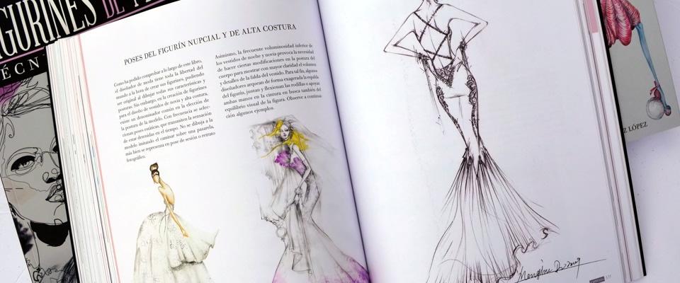 FIGURINES DE MODA :: Técnicas y Estilos :: El libro
