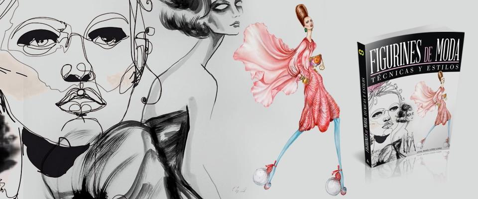el libro figurines de moda tcnicas y estilos